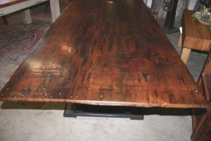 DT-81 Trestle Table -end top